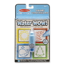 Melissa & Doug 9444 Water Wow! - Colors & Shapes Water Reveal Pad - ON the GO Travel Activity
