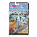 Melissa & Doug 9445 Water Wow! - Under The Sea Water Reveal Pad - ON the GO Travel Activity