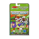 Melissa & Doug 9464 Water Wow! - Wacky Animals Water Reveal Flip Pad - ON the GO Travel Activity