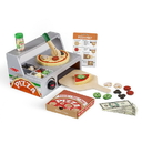 Melissa & Doug 9465 Top & Bake Pizza Counter - Wooden Play Food