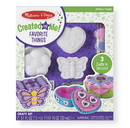 Melissa & Doug 9534 Decorate-Your-Own Favorite Things Set
