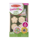 Melissa & Doug 9582 Created by Me! Flower Magnets Wooden Craft Kit