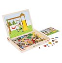 Melissa & Doug 9918 Wooden Magnetic Matching Picture Game
