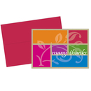 Great Papers 2013275 Color Block Thank You Note Card