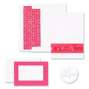 Masterpiece Studios 2150042 Fuchsia Band Invitation And Note Card Kit