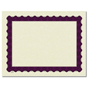 Great Papers 960021 Metallic Purple Certificate - 25 Sheets/Pack