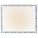 Great Papers 961032 Westminster Blue Value Certificate - 100 Sheets/Pack