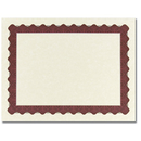 Great Papers 934125 Metallic Red Certificate - 25 Sheets/Pack