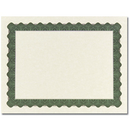 Great Papers 934225 Metallic Green Certificate - 25 Sheets/Pack