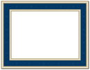 Great Papers 20103773 Navy Frame Certificate