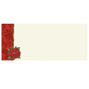 Great Papers 20103027 Poinsettia Damask Envelopes - 25 Sheets/Pack