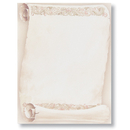 Great Papers 957041 Florentine Scroll Letterhead - 80 Sheets/Pack