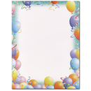 Party Letterhead - 25 pack