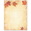 Fall Leaves Letterhead - 25 pack