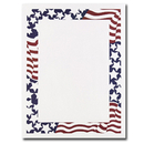 Great Papers 970130 Stars & Stripes Letterhead - 80 Sheets/Pack