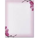 Pink Orchids Letterhead - 25 pack