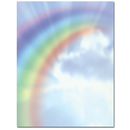 Great Papers 972943 Rainbow Bright Letterhead - 80 Sheets/Pack