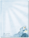 Great Papers 972960 Mary With Baby Jesus Letterhead - 80 Sheets/Pack