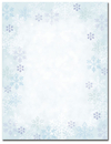 Great Papers 2011616 Blue Flakes Letterhead - 80 Sheets/Pack
