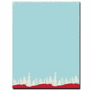 Great Papers ALHX39 Christmas Forest Letterhead, 80 pack