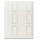 Great Papers 959005 Pearl Border Ivory Place Cards