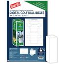 Blanks USA Golf Ball Box - 50 Sheets/Pack