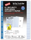 Blanks USA Security Paper - 100 Sheets/Pack
