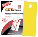 Blanks USA Jumbo Door Hangers, Brights - 500 Sheets/Pack