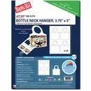 Bottle Neck Hanger W/Tab Closures, 6000pk