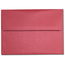 Curious Metallics Red Lacquer A-7 Envelopes - 25 Sheets/Pack