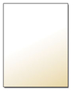 Curious Metallics Ice Gold Letterhead - 25 Sheets/Pack