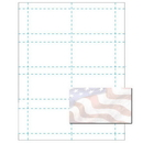Grand Old Flag Business Card, Blank Pasel Business Card, 2500pk