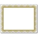 The Image Shop OCB440-25 Spiral Gold Certificate, 25 Pack