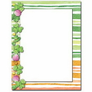 The Image Shop OLH001 Clover Stripes Letterhead, 100 pack