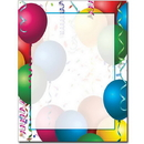 The Image Shop OLH015-25 Bright Balloons Letterhead, 25 pack