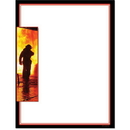The Image Shop OLH021-25 Fire Fighter Letterhead, 25 pack