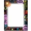 The Image Shop OLH026 Fireworks Letterhead, 100 pack