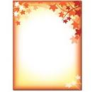 Fall Silhouette Letterhead - 25 pack