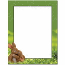 The Image Shop OLH100 Hugging Bunnies Letterhead, 100 pack