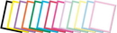 The Image Shop OLH102 Basic Border Pastel Letterhead, 100 pack