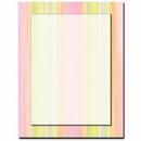 The Image Shop OLH122 Sherbert Stripes Letterhead, 100 pack
