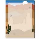 The Image Shop OLH225 Southwest Sunrise Letterhead, 100 pack