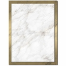 The Image Shop OLH235 Gold Marble Letterhead, 100 pack