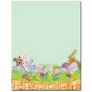 The Image Shop OLH242 Easter Basket Letterhead, 100 pack