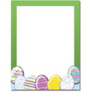 The Image Shop OLH245-25 Easter Eggs Letterhead, 25 pack