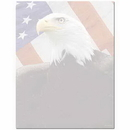 The Image Shop OLH249-25 American Eagle Letterhead, 25 pack