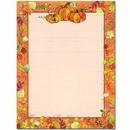 The Image Shop OLH255-25 Pretty Pumpkins Letterhead, 25 pack