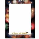 The Image Shop OLH299-25 Grad Fireworks Letterhead, 25 pack