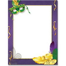 The Image Shop OLH340-25 Mardi Gras Letterhead, 25 pack