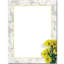 The Image Shop OLH403 Daisy Border Letterhead, 100 pack